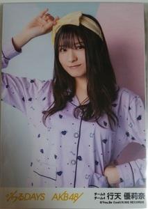 AKB48 ジワるDAYS 劇場盤 生写真 チーム8 行天優莉奈