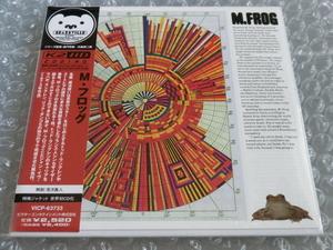 新品即決CD M・フロッグ M.FROG 特殊ジャケット仕様 世界初CD化 高音質K2HD トッド・ラングレン Todd Rundgren リック・ダンコ ザ・バンド