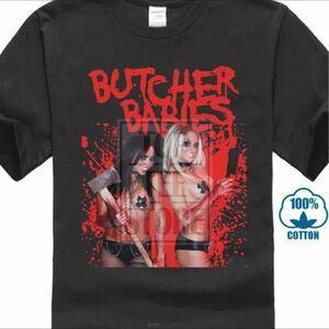 BUTCHER BABIES Tシャツ バンドTシャツ バンT ブッチャーベイビーズ