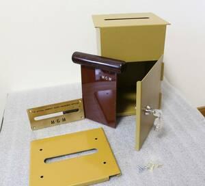 キャッシュボックス TP.020 キー2本 中古カジノ CASINOカジノテーブル バカラ ブラックジャック ルーレット 金属製 MGM 箱 CB2