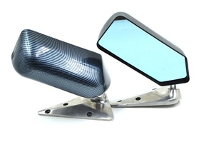 [ new goods ] all-purpose carbon look side mirror racing door mirror drift F1 D1 drift stance carbon mirror 180SX JZX110 JZX90