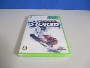 Xbox 360 Stoked:BIG AIR EDITION ストークト ビッグエアーエディション 未開封