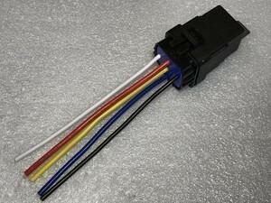 【W-5PR】送料込 送料無料 5極リレー 5ピン 車載リレー DC12V C接点 検) ハザード 代替 フォグ エーモン 2898 代用 修理