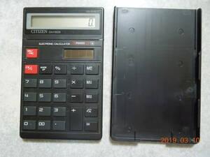 シチズン ソーラー電卓 DM-503 CITIZEN 計算機