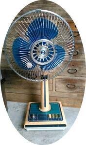 当時物●レトロ扇風機●古い扇風機◆昭和な扇風機◆アンティークな扇風機●三菱電機 30cm お座敷扇 R30-YS●ネオクラッシック●愛知県