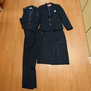 パンアメリカン航空 PAN AM スチュワーデス 制服セット スカート パンツ両方の珍しいセット 超貴重品 即決 送料込み