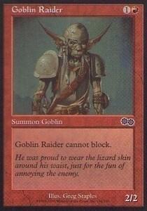 025296-002 US/USG ゴブリンの略奪者/Goblin Raider 英2枚