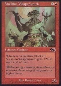 025309-002 US/USG ヴィーアシーノの武具職人/Viashino Weaponsmith 英2枚