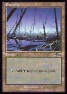 025348-002 US/USG 基本土地 沼/Swamp(340/350) 英1枚