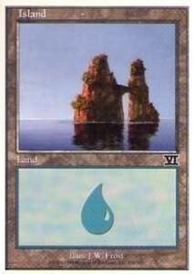 028336-002 第6版/6E/6ED/6TH 基本土地 島/Island(336/350) 英1枚