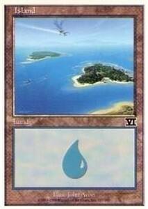 028337-002 第6版/6E/6ED/6TH 基本土地 島/Island(337/350) 英1枚