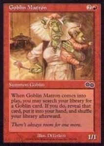 025294-002 US/USG ゴブリンの女看守/Goblin Matron 英1枚
