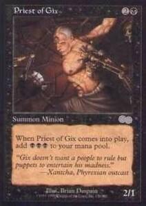 025173-002 US/USG ギックスの僧侶/Priest of Gix 英1枚
