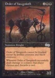 025170-002 US/USG ヨーグモス騎士団/Order of Yawgmoth 英1枚