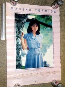 x品名x (Y)懐かしい年代品! 吉田真里子/吉田 真里子?ポスター約72cm×51mサイズ感じの大きさType♪当時の芸能アイドル歌手タレント系
