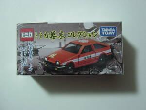 送料198円~ トミカ 幕末 コレクション 坂本龍馬 トヨタ AE86 スプリンタートレノ