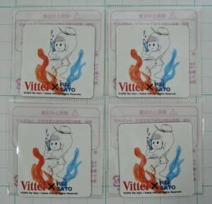 01G ■佐藤玲 マグネット 4枚■村上隆&KaiKai KiKi カイカイキキ/VITTEL/ヴィッテル 2003未開封