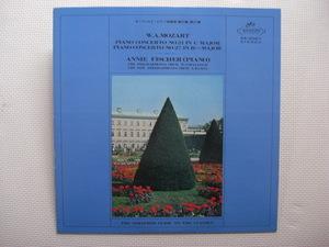 *【LP】アニー・フィッシャー(ピアノ)/モーツァルト ピアノ協奏曲 第21番、第27番(AA5067)(日本盤)