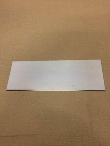 ステンレス板 SUS304 400番片側研磨 332㎜×120㎜ 約33cm×11cm 厚み1㎜ 2B材 1枚 送料レターパック370円