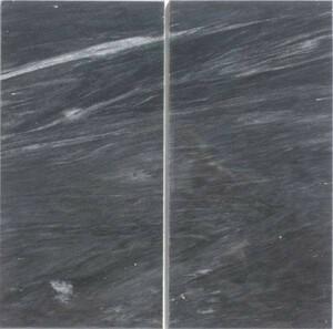 【 天然 黒大理石 】《 鏡面磨き 》300mm×150mm角 [ 1ピース ]
