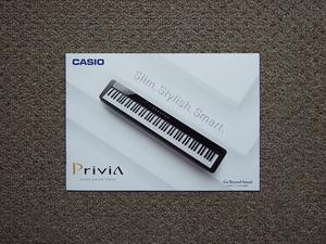 【カタログのみ】CASIO 2019.01 Privia 検 PX-S1000 PX-S3000 デジタルピアノ 電子ピアノ