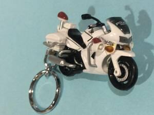 キーホルダー ホンダ VFR800P 白バイ ポリス 警視庁 マスコット アクセサリー バイク