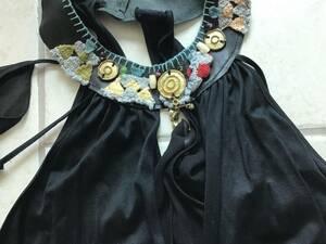 FORNARINA 素敵な刺繍ストーン飾り襟 トップス