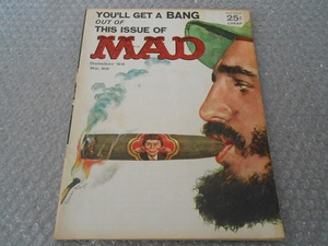 MAD magazine 1963年 S38 10月 82 ビンテージ レトロ アルフレッドEニューマン カストロ キューバ マッドマガジン アメリカ 雑誌 アメコミ