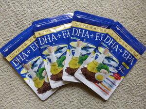 DHA EPA オメガ3 αリノレン酸 エゴマ油 亜麻仁油配合 約12ヶ月(90粒×4袋)  シードコムス