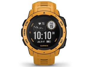 [ price cut negotiations equipped ] GARMIN( Garmin )Instinct in stay nktoSUNBURST sun Burst toughness GPS outdoor watch Japanese correspondence