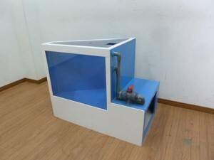 店舗 ディスプレイ 三角形 コーナー 水槽