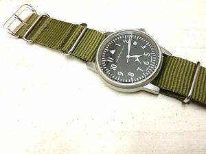 新品 Messerschmitt/メッサーシュミット 腕時計 「109 S Olive」MADE IN GERMANY