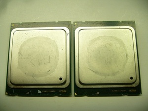 *Intel XEON E5-2630 2.80GHz SR0KV* б/у такой же один Rod 2 шт. комплект *