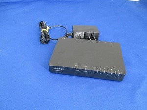 T) BUFFALO Giga bit 8 порт ступица LSW5-GT-8EPL/BK б/у товар ( контрольный номер T-190024)