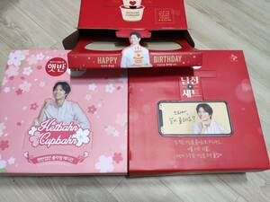 パク・ボゴム 韓国 限定版 2019 さくら+ボーイフレンドボックス+誕生日祝い - 非売品 広告用