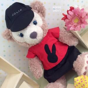 ダッフィー☆シェリーメイ☆うさぎのTシャツ女の子セット☆ハンドメイド 服 コスチューム