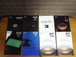 D56 Canon catalog 8 pieces set