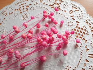 ●リンフラワー ピンク ハーバリウム ボタニカルキャンドル ワックスサシェ リース プリザーブド 少量 17●