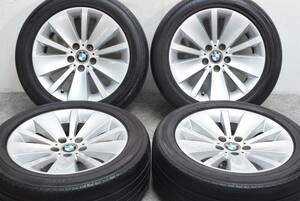 《即決》BMW 7シリーズ コンフォートパッケージ 純正 18in 6J +24 PCD120 アドバン デシベル 245/50R18 E65 E66 F01 F02 F25
