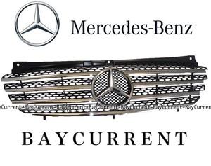 【正規純正品】 Mercedes-Benz ラジエターグリル 前期用 W639 Vクラス ビアノ フロントグリル グリル 6398800285 9120 63988002859120