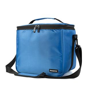 ソフトクーラー 10L ブルー 保温バッグ 保冷バッグ アウトドア 保温 保冷 ランチバッグ 遠足 キャンプ アウトドア用品 手提げ 肩掛け