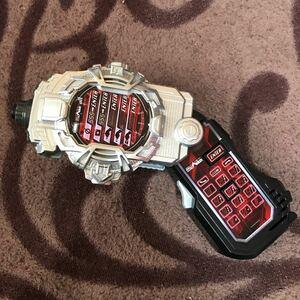 美品 DX ファイズフォン 仮面ライダー ジオウ 555 ライドウォッチ 銃 変身アイテム 携帯電話 ゲイツ ツクヨミ ウォズ ビルド おもちゃ 玩具