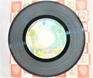 DEEP PURPLE シングルレコードBLACK NIGHTライブバージョン ウーマンフロムトウキョウ [190414]