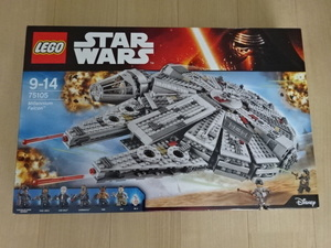 未開封 箱傷み レゴ スターウォーズ ミレニアムファルコン LEGO STARWARS 75105