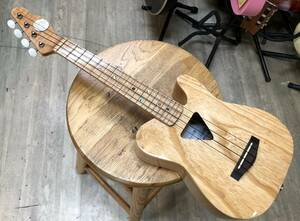 マイク付き テレキャスウクレレ Telecaster Type Ukulele 菊地ギター工房製造 テレキャスタースタイル ウクレレ
