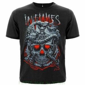 IN FLAMES Tシャツ バンドTシャツ バンT インフレイムス