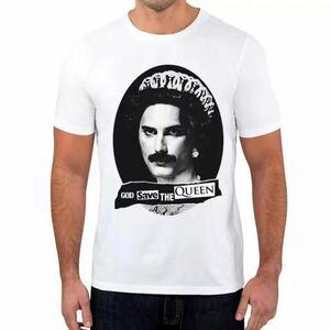 QUEEN Tシャツ バンドTシャツ バンT クイーン Freddie Mercury フレディマーキュリー 3
