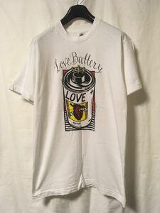 【90s(1992)LOVE BATTERY ビンテージ バンド Tシャツ】バンT SUB POP レア USA製 シングルステッチ nirvana ニルバーナ サブポップ 古着