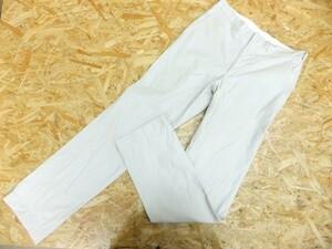 J.CREW ジェイクルー メンズ 日本製 綿コットン100% 中厚手 カジュアル ストレートパンツ ライトグレー サイズ31