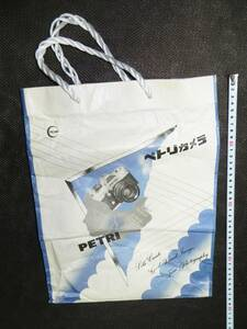 * rare!! missed!![petoli camera. handbag paper bag ]1 point H